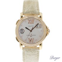 Ulysse Nardin San Marco Dual Time Rose Gold/ Diamonds