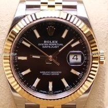 Rolex Datejust , Ref. 126333 - schwarz Index ZB/Jubileeband