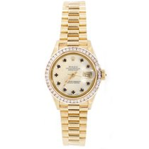 Rolex President 69178 In 18K Yellow Gold Perfect New Condition...
