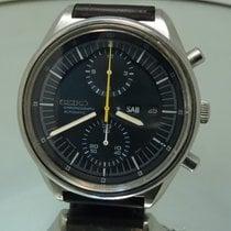 Seiko vintage chronograph Jumbo oversize 6138 3002