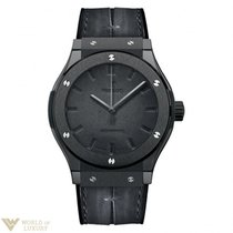 Hublot Classic Fusion 45mm Scritto Berluti All Black Watch