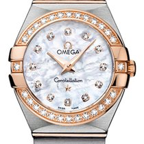 Omega Constellation Quartz 27 Mm With Diamonds