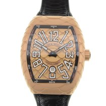 Franck Muller New  Vanguard 18k Rose Gold Gold Automatic V 45...