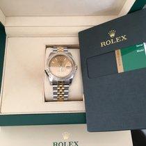 勞力士 (Rolex) Nib Datejust 36mm 18k Gold/ss 116233 Champagne Index