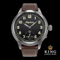 Alpina Heritage Pilot Hand-Winding Men's Watch
