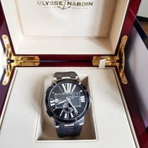 Ulysse Nardin Executive Dual Time Ceramic GMT Ceramic Bezel