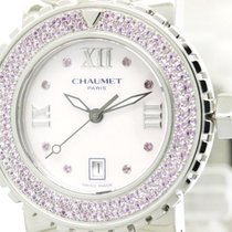 Chaumet Polished Chaumet Class One Pink Sapphire Mop Dial...