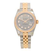 Rolex Datejust 179171 - Silver Diamond Dial - 2016