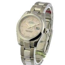 Rolex Unworn 179160 Stainless Steel Ladies Datejust with MOP...