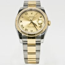 Rolex Datejust 116233 Champagne Face Box & Booklets 2015...