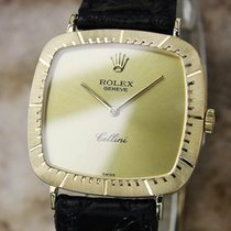 Rolex Cellini Swiss Made Manual 1972 Solid 18k Gold Mens...