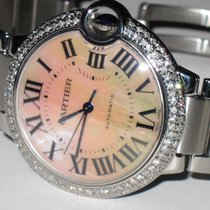 Cartier Ballon Bleu Midsize 36mm Automatic Diamonds