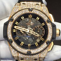 Hublot King Power Unico Rose Gold Limited Edition Diamonds