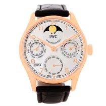 IWC Portuguese Perpetual Calendar 18k Rose Gold Watch Iw502213