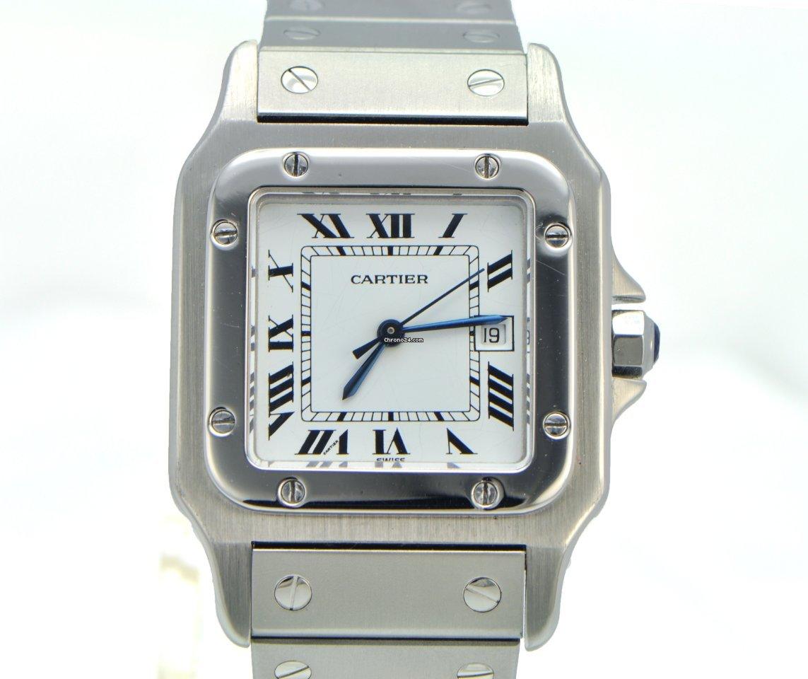 santos mens zw watch watches cartier