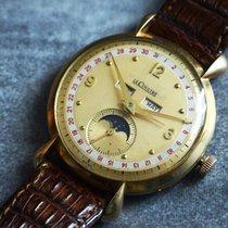 예거 르쿨트르 (Jaeger-LeCoultre) Vintage 18KYG Triple Calendar...