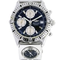 Breitling For Bentley A25362 Black Dial on Leather Watch