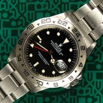 Rolex Explorer II 16550 black dial box 1987