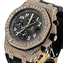 오드마피게 (Audemars Piguet) Diamond  Royal Oak Offshore Chronograp...