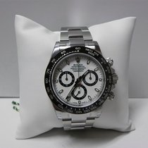 Rolex Daytona 116500 White Dial Stainless Steel and Ceramic