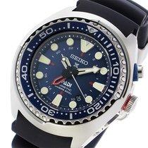 Seiko PADI Prospex Kinetic GMT Diver  メンズ 腕時計 SUN065P1 ネイビー