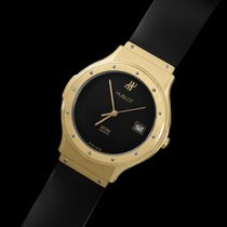 Hublot MDM Full Size 36mm Mens Watch with Papers - 18K Gold