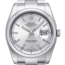 Rolex Oyster Datejust 36mm Ref. 116200  Silber Index