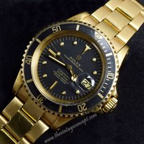 勞力士 (Rolex) 1680 Submariner 18k YG Black Dial