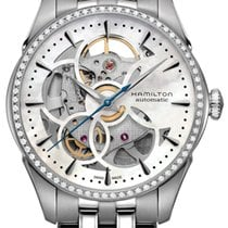 Hamilton Jazzmaster Viewmatic Skeleton Lady Automatikuhr...