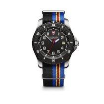 Victorinox Swiss Army Maverick Sport Large black dial, textile...