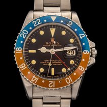 Rolex GMT REF 1675 GILT DIAL BOX AND PAPERS FULL SET