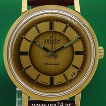 Ζενίθ (Zenith) Vintage Victorious 36mm Automatic Date Gold Steel
