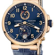 Ulysse Nardin Marine Chronometer Manufacture 43mm 1186-126.63