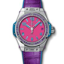Hublot Big Bang Pop Art Steel Purple One Click 465.SV.7379.LR....