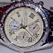 Breitling Chronomat Crosswind Stainless Steel Automatic Diamond