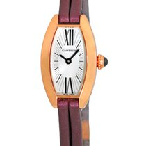 "Cartier ""Lanieres Tank Allongee"" Mini Tonneau Dresswatch."