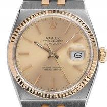 Rolex Datejust Oysterquartz Open 6/9 Stahl Gelbgold Quarz...