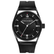 Πόρσε Ντιζάιν (Porsche Design) 1919 Datetimer Black & Rubber