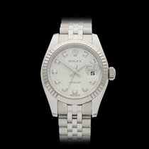 Rolex Datejust Stainless steel & 18k white gold Ladies...