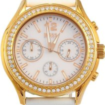 Hugo Boss 1502261 Womens Cadiz Chronograph White Mother Of...