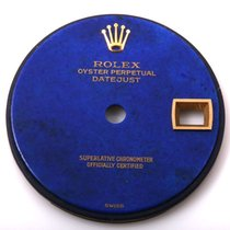 Rolex Ladies 18K/SS Datejust - Factory Blue Lapis Stone Dial