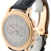 Patek Philippe 5070 18K Rose Gold Chronograph Mens Watch...