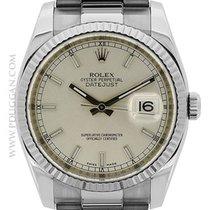 Rolex stainless steel Datejust II