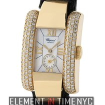 Chopard La Strada 18k Yellow Gold Diamond Case Mother Of Pearl...