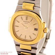 Patek Philippe Nautilus Lady Ref-4700-1 18k Yellow Gold...