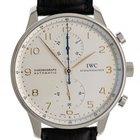 IWC Portugieser Chronograph Stahl Automatik 41mm Ref.IW 371445...