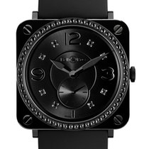 Bell & Ross BR S Quartz 39mm BRS Black Ceramic Phantom...