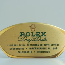 Rolex DAY-DATE Agent Officiel targa display stand dealer vintage