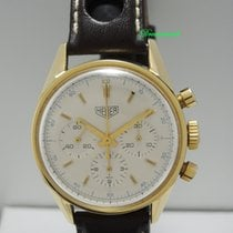 Heuer Carrera Chronograph 18k Gold