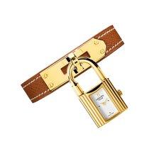 Hermès Kelly White Dial Tan Leather Ladies Watch 023725WW00